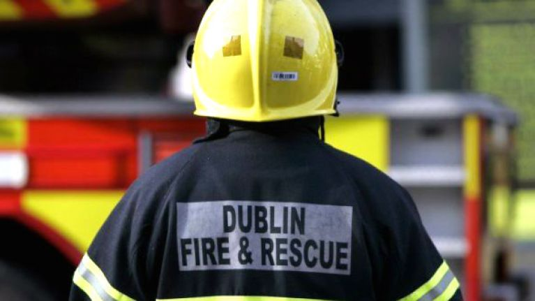 Dublin Fire Brigade tweet about their experiences with 'GINcidents'