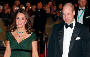 Kate Middleton caused controversy at the BAFTAs last night