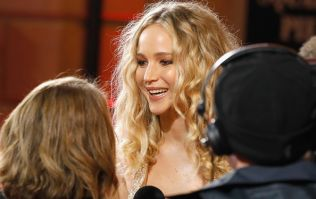 Jennifer Lawrence just wore a gorgeous dress on the red carpet