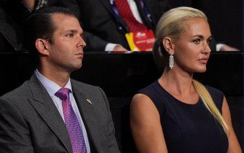 Donald Trump Junior's wife Vanessa rushed to hospital