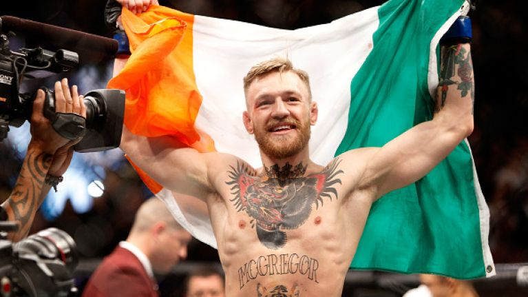 Conor McGregor pictured in one of Amsterdam's famous 'coffee shops'