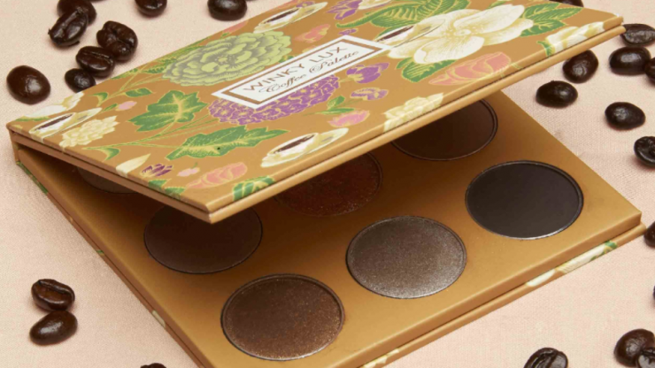 This coffee-scented makeup collection is the perfect pick-me-up
