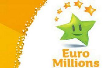 Here are tonight's winning numbers for the €17 million EuroMillions jackpot