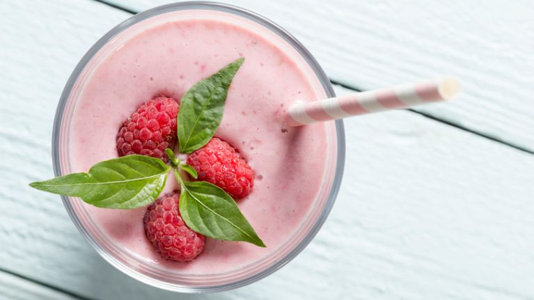 Raspberry chia pudding is the perfect breakfast for keeping you fuller for longer