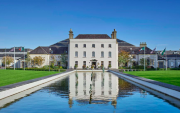 One hour from Dublin is the hotel that's a home away from home