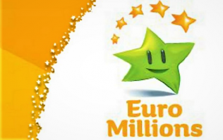 Here are tonight's lucky €60 million EuroMillions numbers
