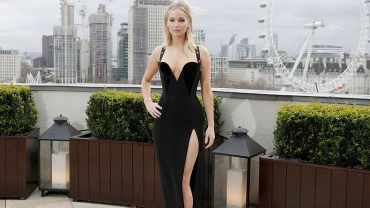 There are worse things in the world than Jennifer Lawrence being cold on a roof