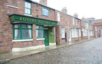 The old Corrie set looks pretty creepy in this new footage