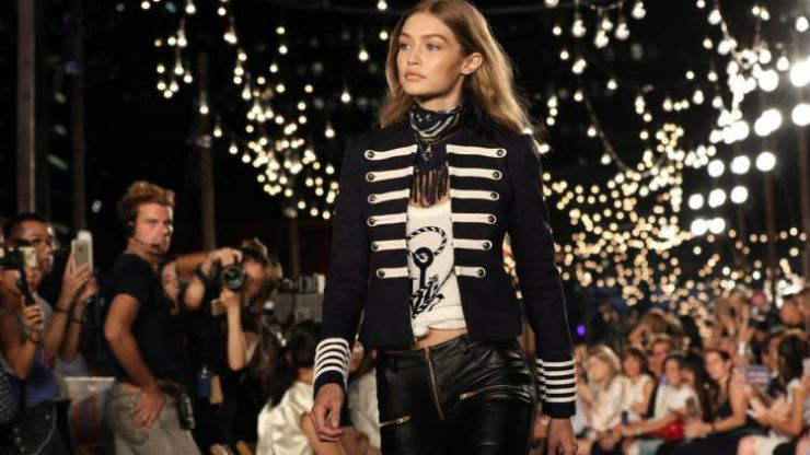 This Tommy Hilfiger fashion week event will make you feel like you're sitting FROW