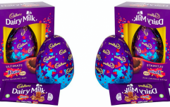 Oh my! You can now buy a giant Cadbury egg loaded with Daim pieces