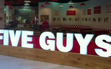 Five Guys have announced ANOTHER location in Ireland and we're buzzing