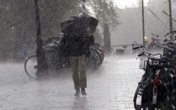 Weather warning issued: five counties are at risk of flooding and heavy rain