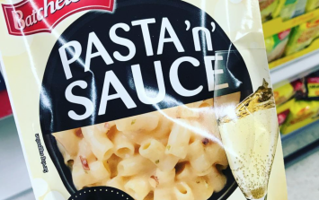 You can now buy prosecco pasta in a packet and our stomachs just turned