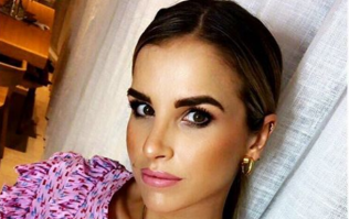 Vogue Williams is wearing the most glorious €79 cardigan from & Other Stories today