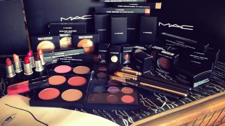 Arriving soon... MAC's six lip glosses and six shimmer eye shadows are perfect
