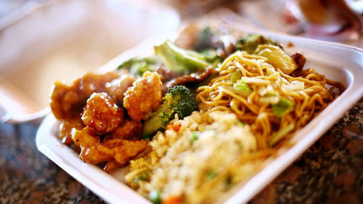 Ever wonder why you should never reheat plastic takeaway containers?