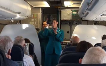 Aer Lingus had a brilliant surprise for Irish fans going to Twickenham