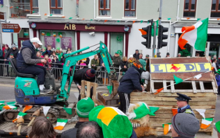 Lidl looting floats are appearing in Patrick's Day parades... and the response is mixed