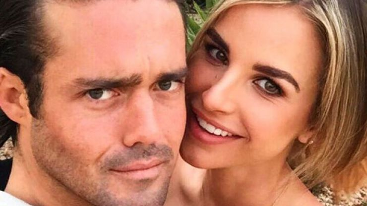 Vogue Williams just shared the CUTEST throwback snap of her and Spencer