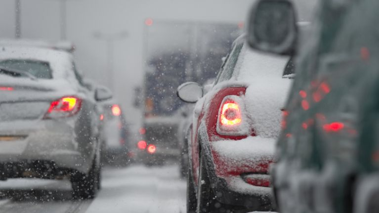 The snow-ice weather warning for all of Ireland has been extended