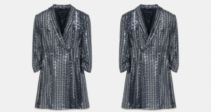 b85e1e5d Amy Huberman and Glenda Gilson look very different wearing the same €70 Zara  dress | Her.ie