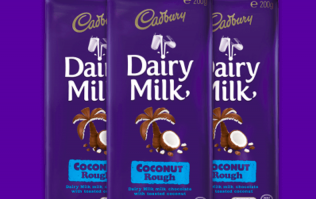 Coconut Dairy Milk bars exist and we are very intrigued