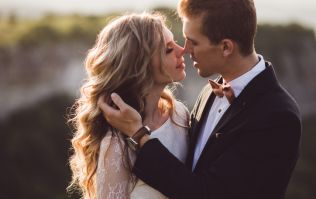 Three reasons that you should do a first look photo on your wedding day