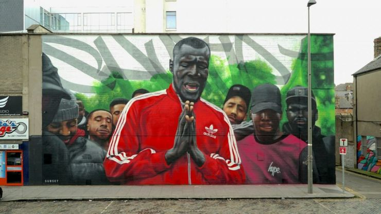 There's a new mural in Dublin in the same place where the Stormzy one was