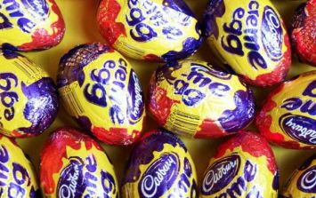 So Cadbury Creme Egg biscuits are BACK and we're weak at the knees