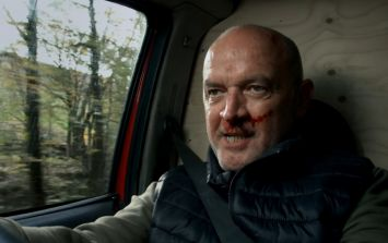 Girl replaces dad's photos with pictures of Pat Phelan and the resemblance is uncanny