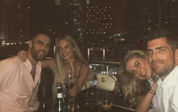 Jess Redden and Joanna Cooper are on a beach in Dubai and we're jealous