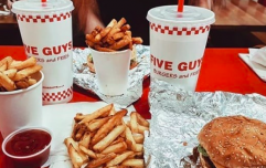 Five Guys is opening up in a brand NEW location and we're seriously buzzing