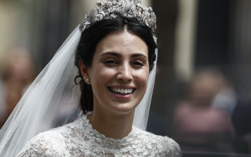 Looks like this princess took inspiration from Pippa Middleton's wedding dress