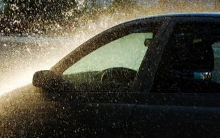 Gardaí have issued a hailstone warning after 12 separate road accidents