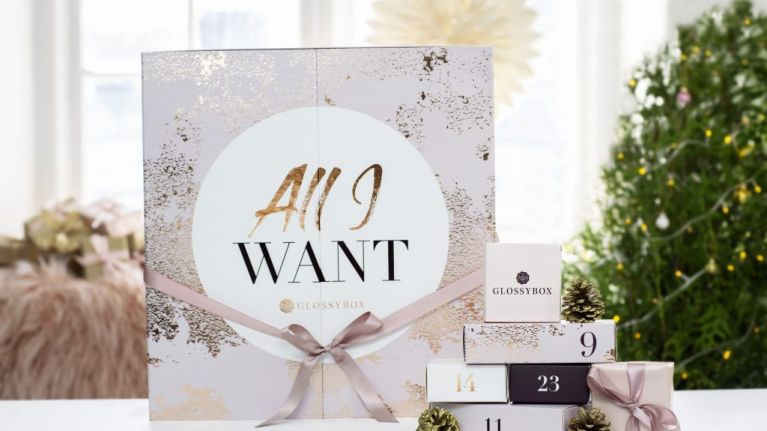 Glossybox Have Announced Their First Ever Advent Calendar And