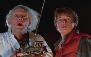 Take a nostalgic trip to the future in everyone's favourite DeLorean