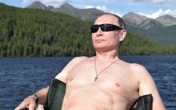 Vladimir Putin's 2019 calendar has been released, and it's something else