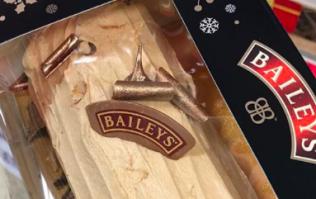 O holy night... Baileys has launched a Christmas chocolate yule log