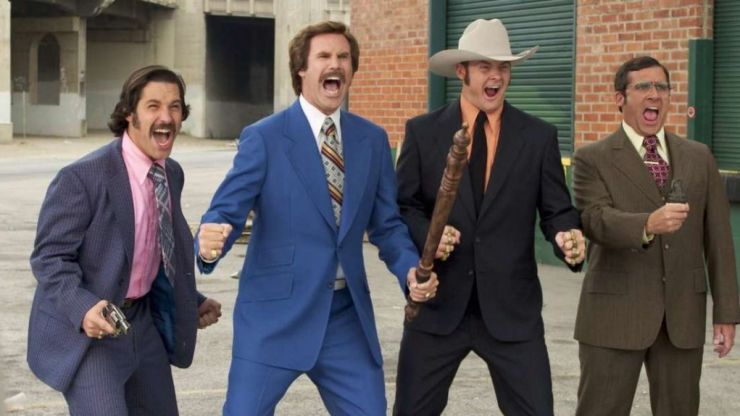 There is an amazing hidden connection to Anchorman in Christian Bale's new movie