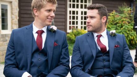 Emmerdale's Aaron Dingle and Robert Sugden have finally