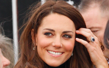 Duchess Kate is repeating one of her best dresses today and we LOVE it