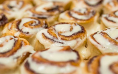 Cinnabon creme liqueur exists in the world and cold, winter evenings will never be the same again