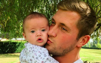 Dan Osborne just shared the sweetest video of baby Mia's first laugh on Instagram
