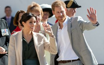 Prince Harry just broke major royal protocol, and it was absolutely ADORABLE