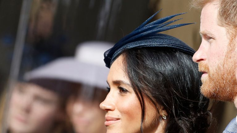 Body Language Expert Says Meghan And Harry Were Having A Row At