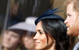 Body language expert says Meghan and Harry were having a row at Eugenie's wedding