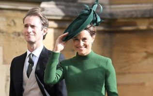 Pippa Middleton has been spotted entering the Lindo Wing