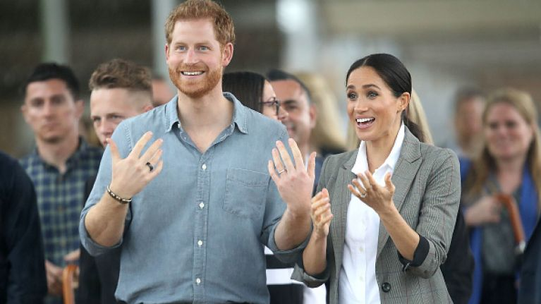 A wax museum in Berlin just revealed their Harry and Meghan, and they will HAUNT you