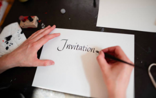 This has to be the strangest wedding invite ever received by another human being