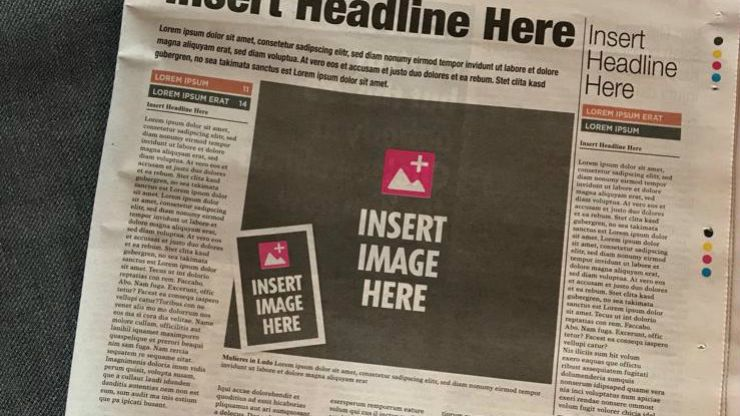 A brilliant ad in the papers today makes a startling point about women in sport